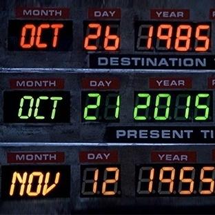 Geleceğe Dönüş Filmindeki Tarih Bugünü Yansıtıyor