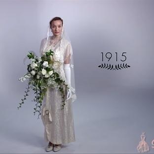Gelinlik Modasının Son 100 Yıldaki Değişimi