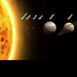 Gezegenlerin Uzaklıklarını Merak Ettiniz mi ?