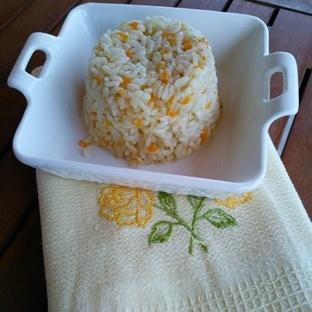 Havuçlu ve soğanlı Pilav