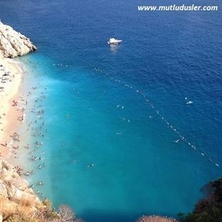 Kaş - Kalkan Tatili ve Dünyaca Ünlü Kaputaj Plajı