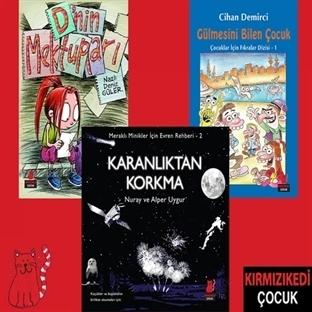 Kırmızı Kedi'den Çocuklara 3 Yeni Kitap