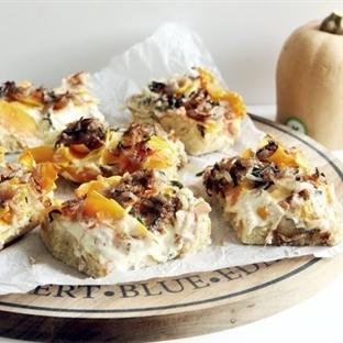Kürbis-Zwiebel-Kuchen