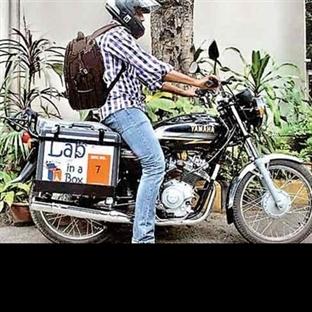 Motosikletli Laboratuvar