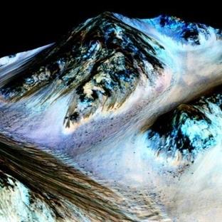 NASA'dan Açıklama: Mars'ta Su Bulundu