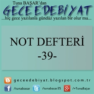Not Defteri -39-