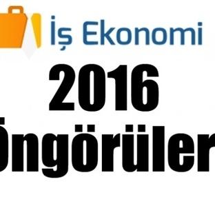 [Öngörü] 2016'da Popüler Olabilecek İş Fikirleri