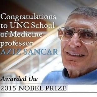 Prof. Dr. Aziz Sancar'a Teşekkür