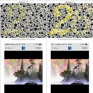 Renk Körleri EyeTeq ile Renkleri Görebilecek