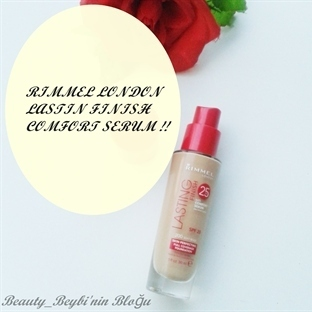 Rimmel London Lasting Fınısh 25 HR Comfort Serum F