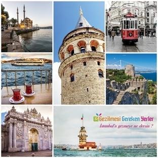 İstanbul'da Mutlaka Gezilecek Tam 40 Yer