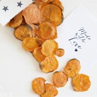 Süsskartoffel Chips