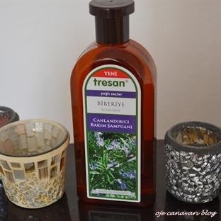 Tresan Canlandırıcı Bakım Şampuanı Biberiye