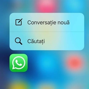 WhatsApp'a 3D Touch Desteği Geldi!