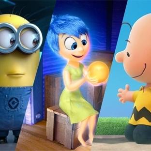 2015 Oscar Ödülleri için aday 16 Animasyon Filmi
