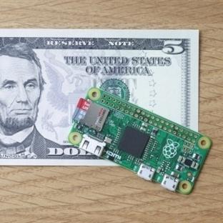 5 Dolara Raspberry Pi Zero!