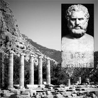 Antik Çağın Bilgesi Priene'li Bias