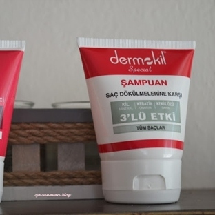 Dermokil Şampuan-Saç Kremi(Tüm Saçlar İçin )