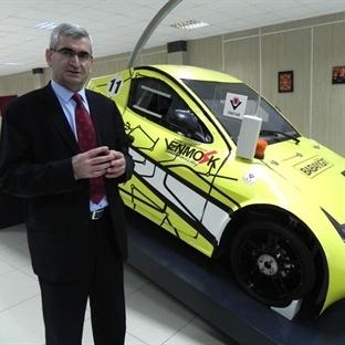 Gelişim Üniversitesi'nin Elektrikli Uçan Otomobili