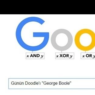 """Günün Doodle'ı """"George Boole"""""""