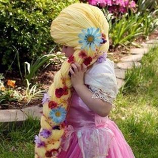 Hasta prensesler için yün saçlar projesi