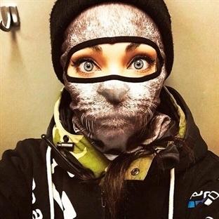 Hayvan Desenli Maskelerle Kışa Meydan Okuyun