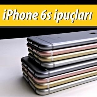 iPhone 6s Gizli Özellikleri