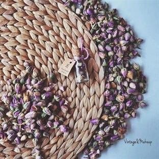 Kurutulmuş Güller ile Vintage Hediyelik Hazırlama