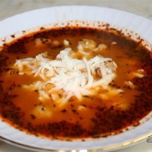 Mantı Çorbası (Yüzük Çorbası)