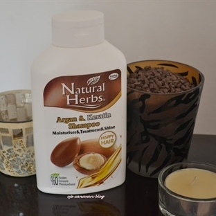 Natural Herbs Argan / Keratin Şampuan