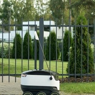 Robot Kuryeler 2016'da İş Başında
