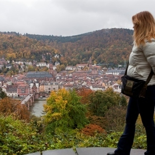 Romantik Şehir Heidelberg