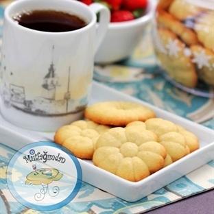 Tereyagli Kurabiye - Spritz Cookies
