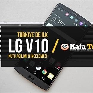 Türkiye'de İlk: LG V10 Kutu Açılımı & İnceleme