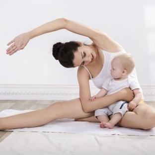 Yeni Anneler için Doğum Sonrası Egzersizler