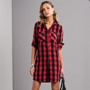 Yeni Trend Gömlek Elbiseler