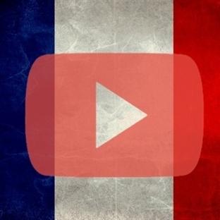 YouTube Logosunu Fransa Bayrağı Yaptı