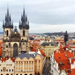 100 kuleli büyülü kent, Prag