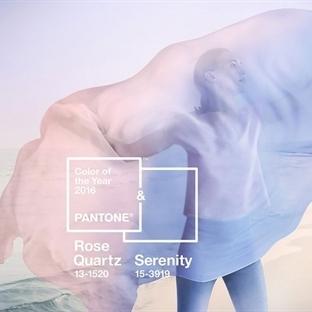 2016 Yılının Moda Renkleri Rose Quartz ve Serenity