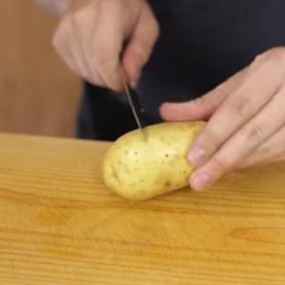 Birkaç Saniye de Patates Nasıl Soyulur?