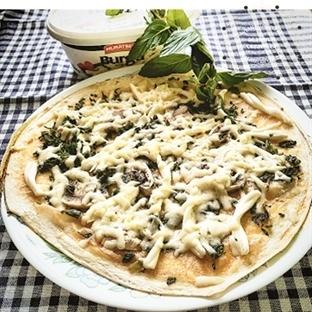 Burgu Peynirli Lavaş Pizza