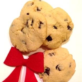 Çikolatalı Parçacıklı Kurabiye / Cookies