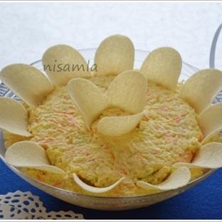 Cipsli Yoğurtlu Patates Salatası