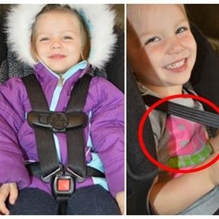 Çocuk Oto Koltuklarındaki Kışlık Mont Tehlikesi