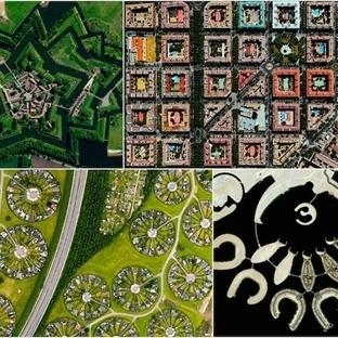 Dünyanın en muhteşem şehirlerinin uydudan görüntül