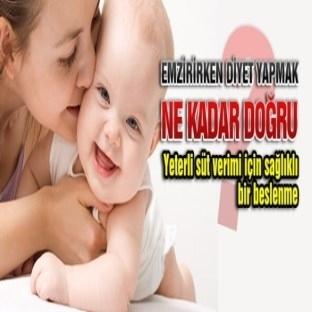 Emziren Anneler İçin Diyet