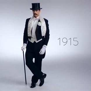 Erkeklerin 100 Yıllık Değişimi