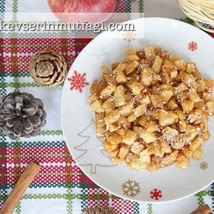 Fırınlanmış Tarçınlı Elma Tarifi (Diyet)