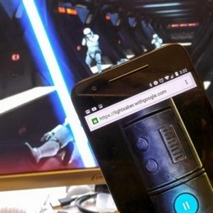 Google'dan Star Wars Işın Kılıcı!