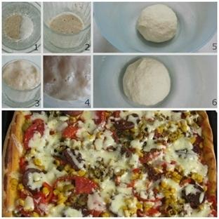 Hamur Nasıl Mayalanır, Pizza Nasıl Yapılır?